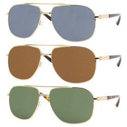 LU0020 BOBIJOO Jewelry Par de Gafas de sol Masculinas Clásico Masculino