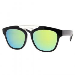 Sonnenbrille Gemischten Schwarz-Grün Design