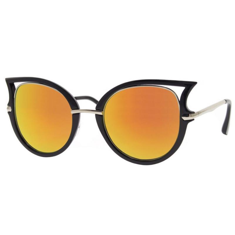 LU0032 BOBIJOO Jewelry Lunettes de soleil Yeux de Chat Cat Eye