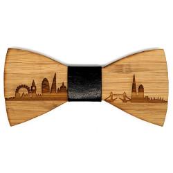 NP0003 BOBIJOO Jewelry Papillon legno bambù Londra GB