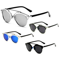 LU0008 BOBIJOO Jewelry Sonnenbrillen-Mann oder Frau-Stil So Real