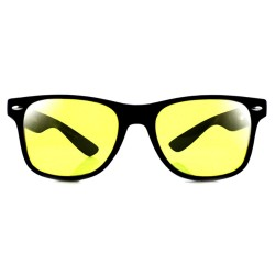 LU0012 BOBIJOO Jewelry Glasses Night Driving Vintage Glasses Yellow