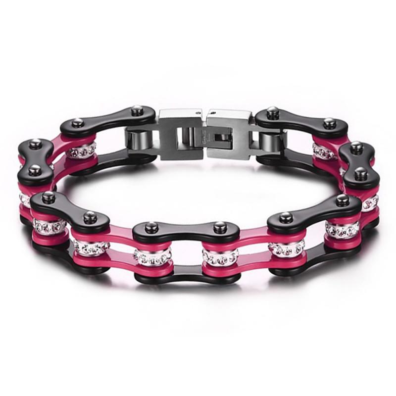 bracelet femme chaine de moto