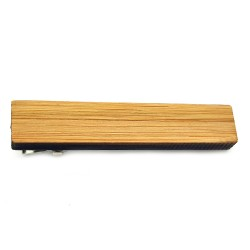 PAC0006 BOBIJOO Jewelry Krawattenklammer Klassiker Holz