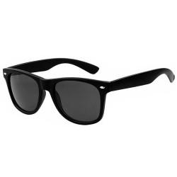 LU0002 BOBIJOO Jewelry Sonnenbrille Vintage Schwarz Weiß Farblos nach Wahl