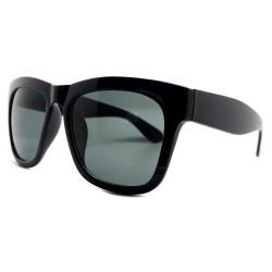 LU0001 BOBIJOO Jewelry Gafas de sol Estilo Clásico de color Negro Brillante o Negro Mate