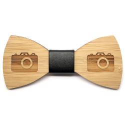 NP0028 BOBIJOO Jewelry Knoten-Schmetterling-Holz-Bambus Fotograf