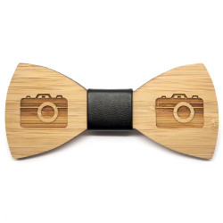 NP0028 BOBIJOO Jewelry Node Butterfly Wood Bamboo Photographer