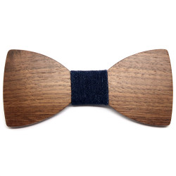 NP0035 BOBIJOO Jewelry Bow tie Wood Model Choice of Chic Charm